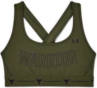 Under Armour Womens Project Rock Crossback Sports Bra