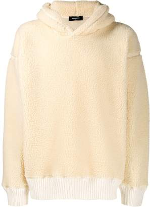DSQUARED2 shearling hoodie