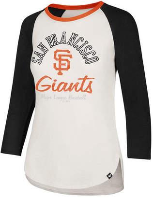 '47 Women San Francisco Giants Vintage Raglan T-Shirt