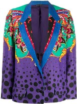 Versace Pre Owned polka dot abstract jacket