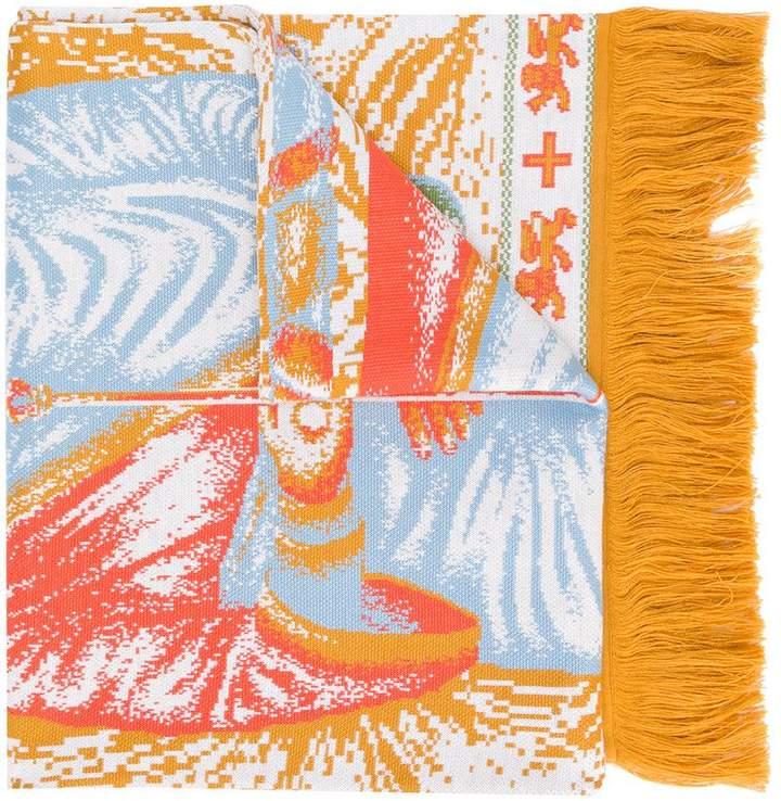 Y/Project Y / Project Virgin Mary print scarf