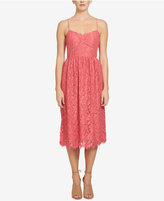 CeCe Aurora Lace Midi A-Line Dress
