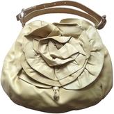 Saint Laurent Yellow Leather Handbag