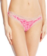 Calvin Klein Women's Thong with Lace