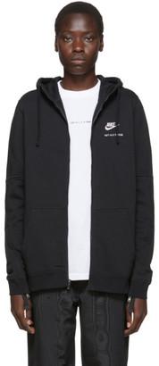 Alyx Black Nike Edition Zip-Up Hoodie