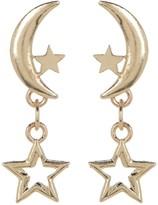 Candela 14K Gold Celestial Drop Dangle Earrings