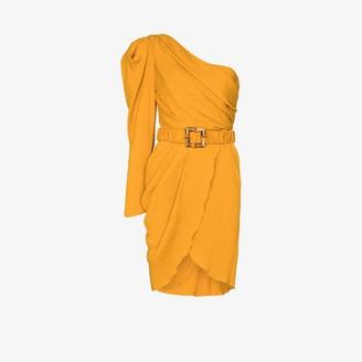 Johanna Ortiz Shining Sun one shoulder dress