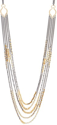 """Joan Rivers Classics Collection Joan Rivers Mixed Metal Layered 29"""" Necklace with 3"""" Extender"""