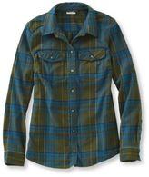 L.L. Bean Whisper Lodge Flannel Shirt