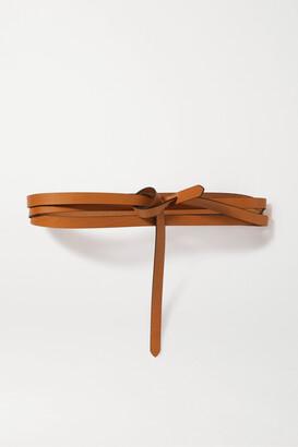 Isabel Marant Lonny Leather Belt - Brown