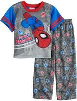 "Marvel Toddler Boy Spider-Man ""Totally Amazing"" Top & Bottoms Pajama Set"