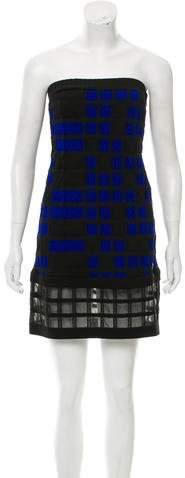 Chanel Strapless Mini Dress