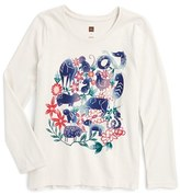 Tea Collection Toddler Girl's Bingata Zodiac Graphic Tee