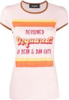 DSQUARED2 vintage-logo slim-fit T-shirt
