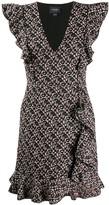 Giambattista Valli ruffled tweed dress