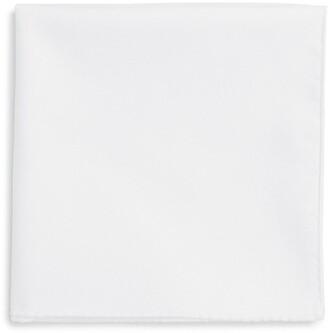 Ted Baker Solid Cotton Pocket Square
