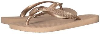 Havaianas Top Tiras Flip-Flops (Rose Gold) Women's Sandals