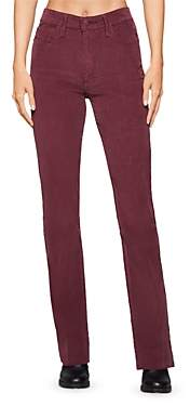 BCBGeneration Corduroy Bootcut Jeans in Burgundy