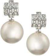 Swarovski Perpetual Pearl and Crystal Earrings