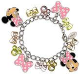 Disney Minnie Mouse Bow Charm Bracelet