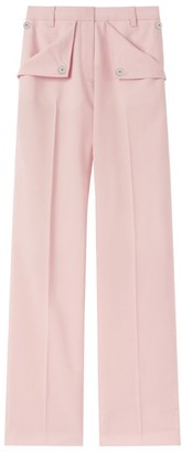 Burberry Tailored Pocket-Detail Trousers