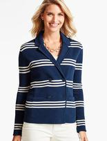 Talbots Mariner's Stripe Jacket