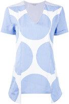 Stella McCartney striped spot blouse - women - Cotton - 40