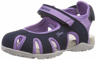 Geox Girls' Jr Sandal Roxanne D Closed Toe Sandals