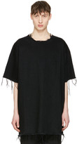 Marques Almeida Black Denim T-shirt