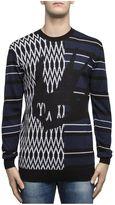 McQ Black Cotton Knitwear