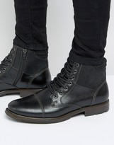 Aldo Choham Leather Laceup Boots