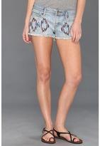 Roxy Blaze Embroidered Denim Short (Faded Glory Wash) - Apparel