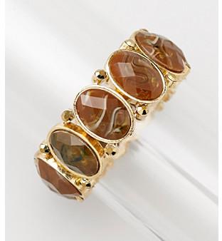 Erica Lyons® Espresso Stretch Bracelet