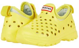 Hunter Original Lightweight Outdoor Shoe (Toddler/Little Kid) (Spanish Dancer/Spearmint) Kid's Shoes
