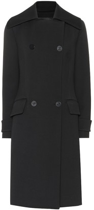 Proenza Schouler Double-breasted cotton-blend coat