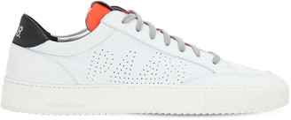 P448 Soho Leather & Suede Low Top Sneakers