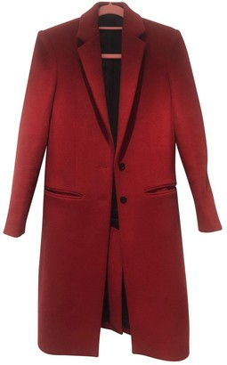 Joseph Red Wool Coats