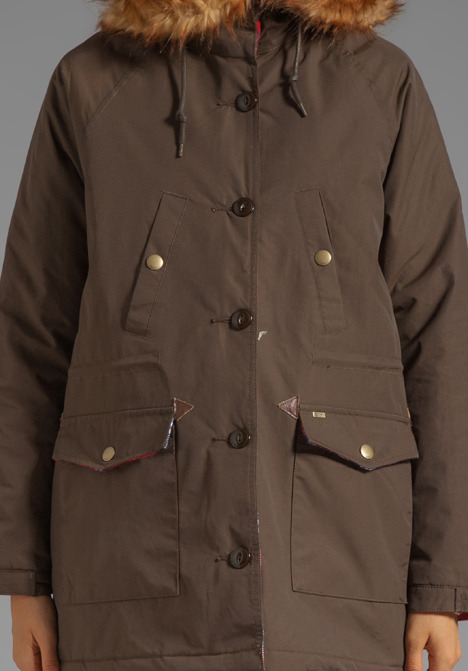 Obey Brighton Military Parka