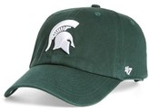 '47 Women's Michigan State Clean Up Baseball Cap - Green