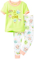 Petit Lem I'm Tres Tres Cool Pajama - 2-Piece Set (Baby Girls)