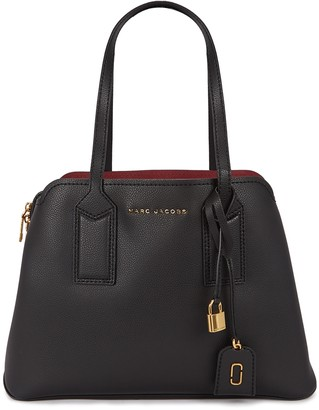Marc Jacobs The Editor black pebbled leather tote
