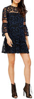 Donna Morgan Three-Fourth Sleeve Lace Dress