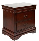 Furniture of America Enitial Lab Summerville 2-Drawer Nightstand
