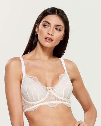 Ellipse Floral Lace Sheer Underwire Bra