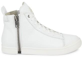 Diesel Side Zip High-Top Sneakers