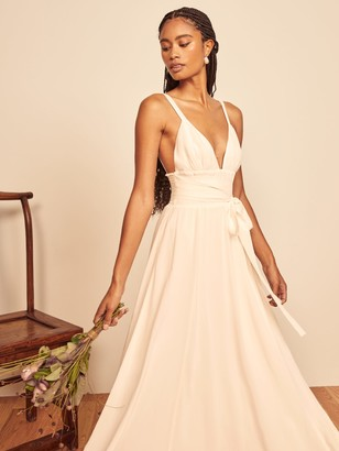 Reformation Prosecco Dress