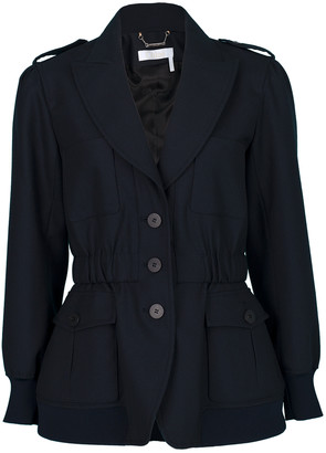 Chloé Long Sleeve Cargo Jacket