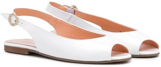 Clarys TEEN peep toe sandals