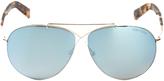 Tom Ford Eva Aviator Sunglasses