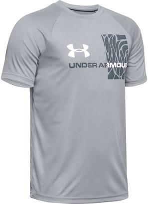 Under Armour Boys' UA Tech Splash Gradient Short Sleeve